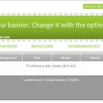 Banner Maker online, crea tus banner de forma fácil, rapida y profecional
