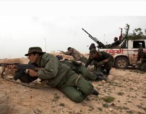 guerra en libia