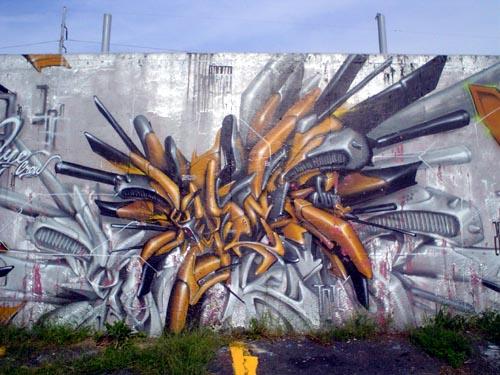 algunos de los mejores graffitis