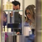 Jennifer Aniston y Justin Theroux: De compras en Barneys New York!